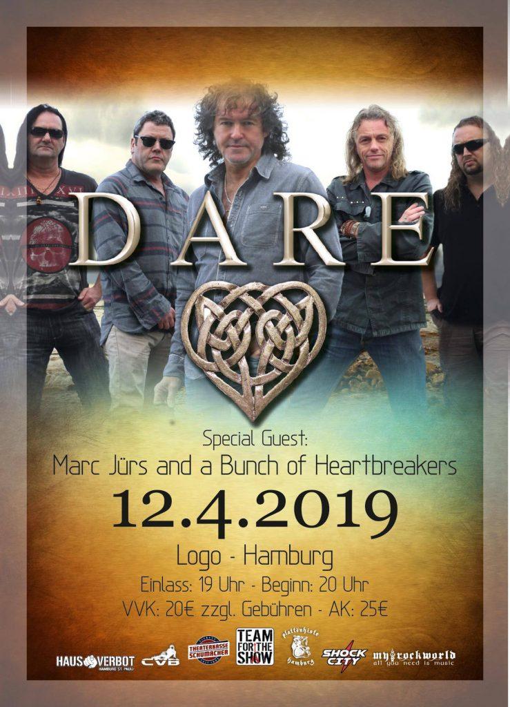 Dare - plus special guests, Hamburg 12.04.2019